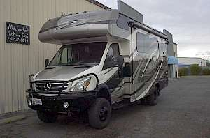 2017 class C RV with 4x4 and options