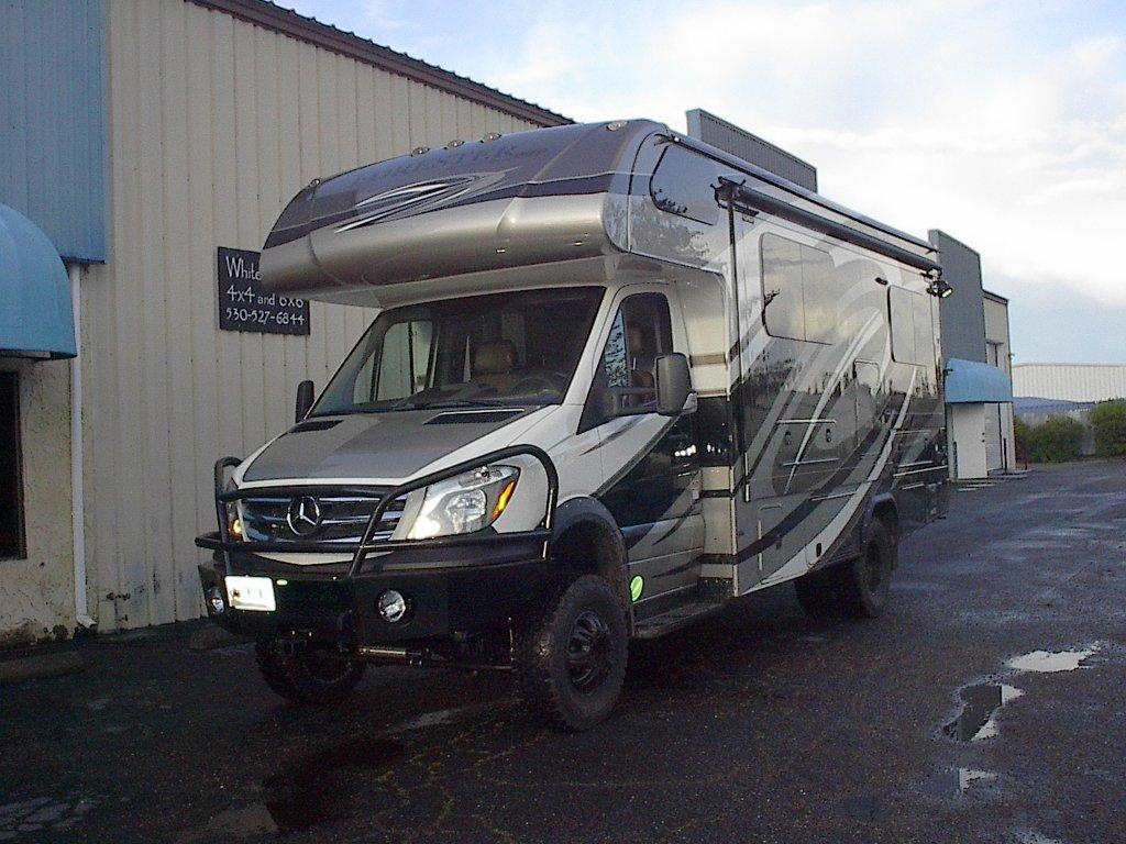 2017 SPRINTER CLASS C 4X4 RV WITH WHITEFEATHER OPTIONS.